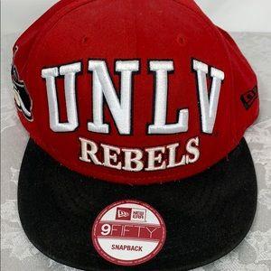 UNLV Rebels red/black hat, SnapBack